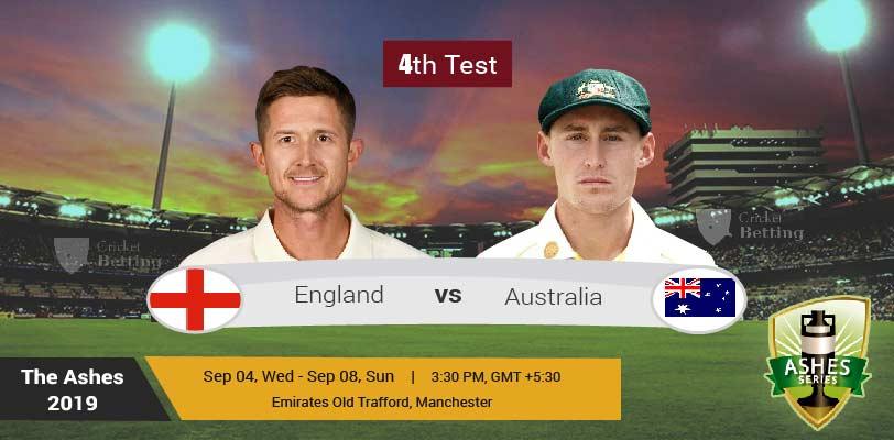 England vs Australia 4th Test Match Prediction & Dream11 Team