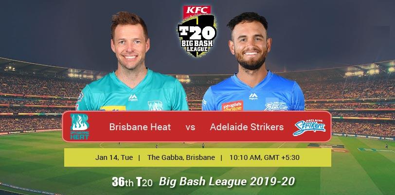 Brisbane Heat vs Adelaide Strikers T20 Match Prediction ...