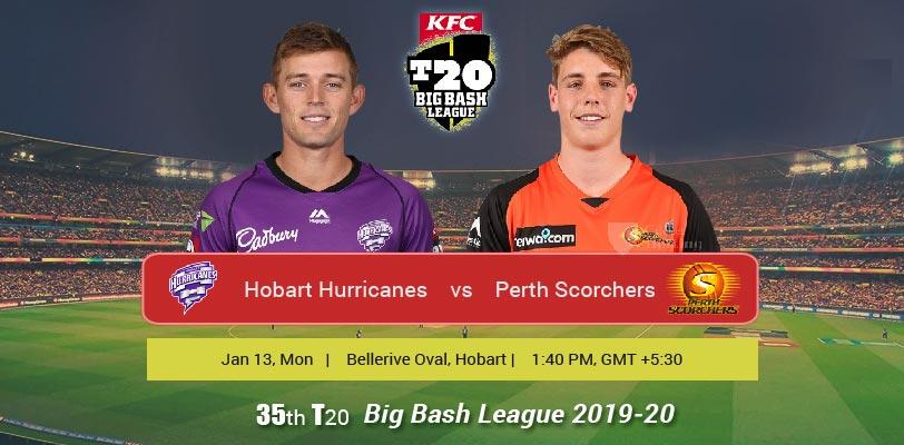 Hobart Hurricanes vs Perth Scorchers T20 Match Prediction ...