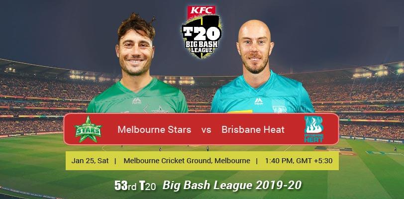 Melbourne Stars vs Brisbane Heat
