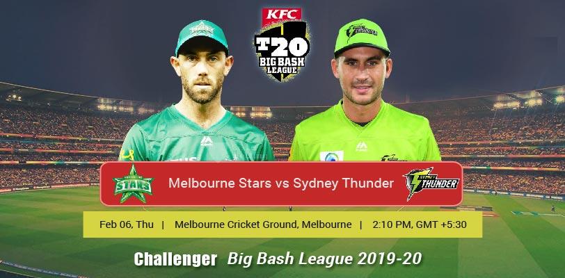 Melbourne Stars vs Sydney Thunder