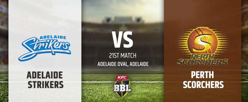 Adelaide Strikers vs Perth Scorchers