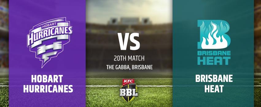Hobart Hurricanes vs Brisbane Heat