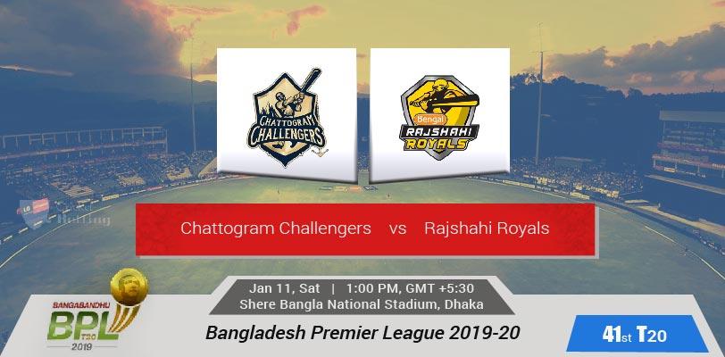 Chattogram Challengers vs Rajshahi Royals