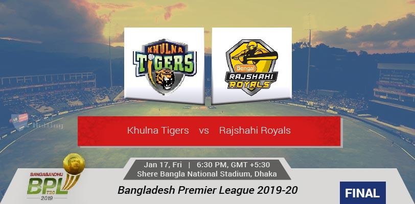 Khulna Tigers vs Rajshahi Royals