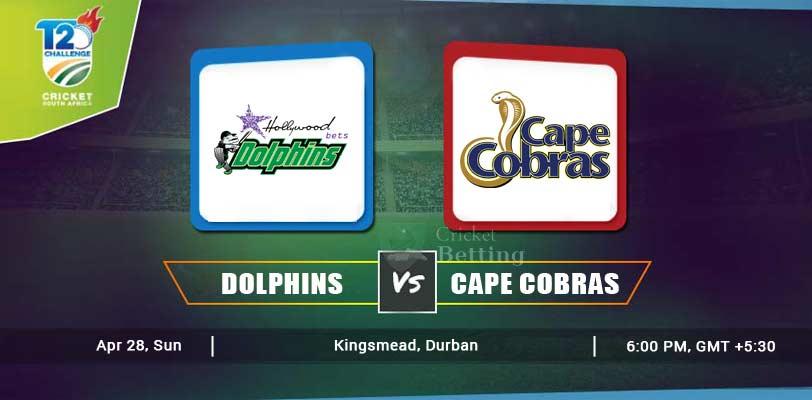 Dolphins vs Cape Cobras