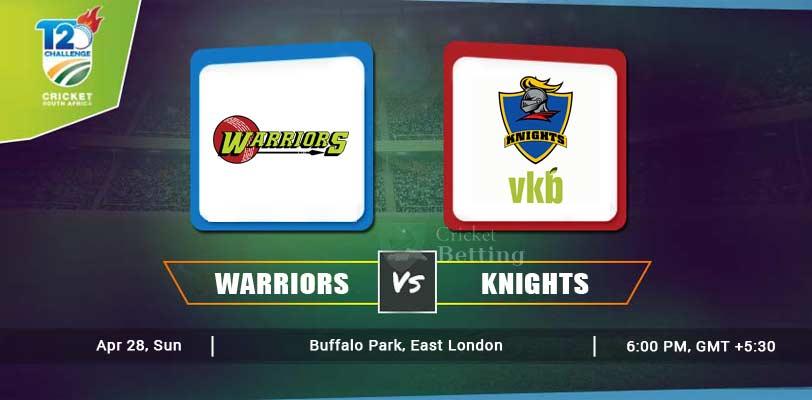 Warriors vs Knights