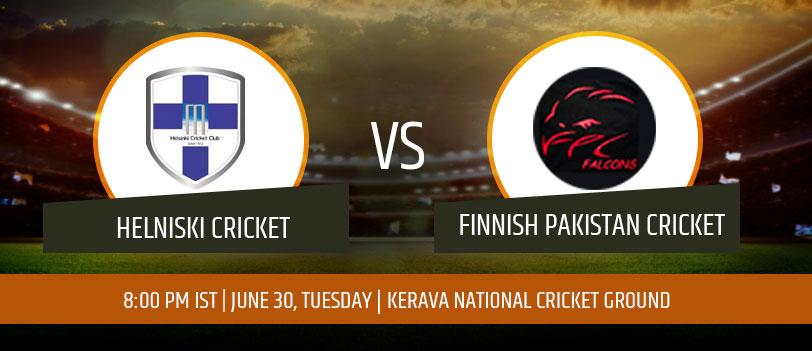 Helsinki Cricket Club vs Finnish Pakistani Club