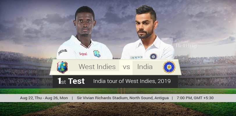 West Indies vs India 1st Test Match Prediction & Dream11 Team