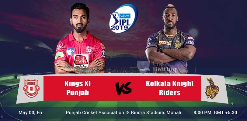 Kings XI Punjab vs Kolkata Knight Riders