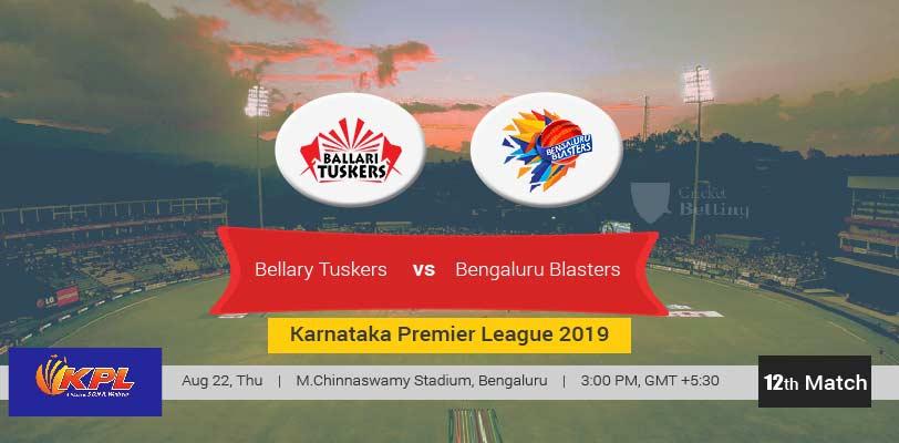 Bellary Tuskers vs Bengaluru Blasters