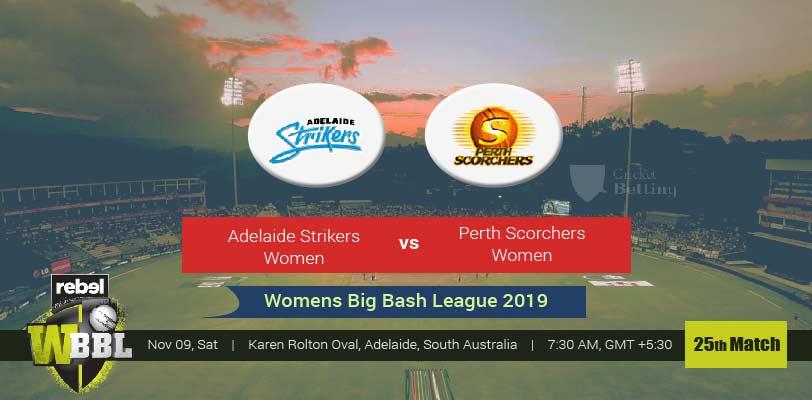 Adelaide Strikers Women vs Perth Scorchers Women