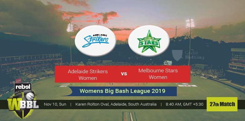 Adelaide Strikers Women vs Melbourne Stars Women