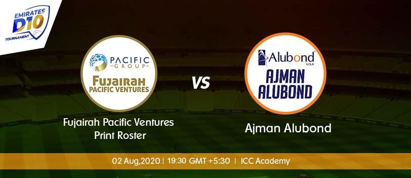 Ajman vs Fujairah