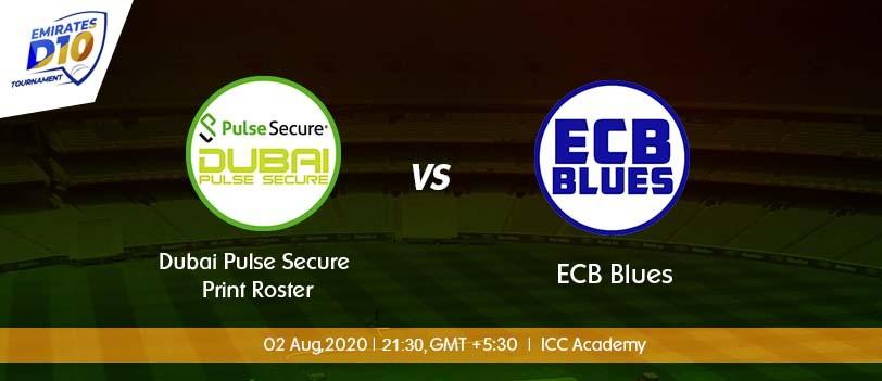 Dubai vs ECB Blues