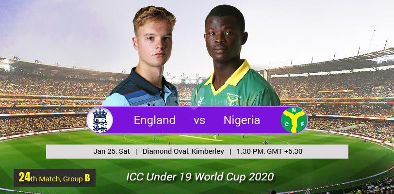England U19 vs Nigeria U19