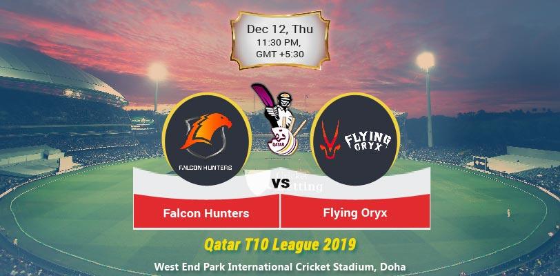 Falcon Hunters vs Flying Oryx