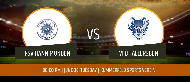 PSV Hann Munden vs VFB Fallersben
