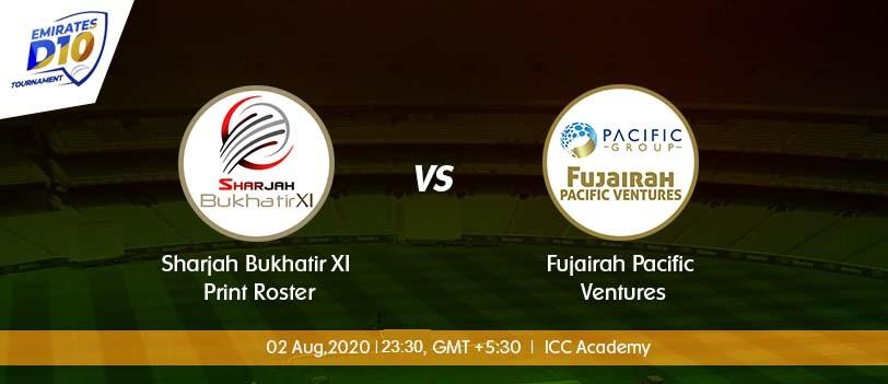 Sharjah vs Fujairah
