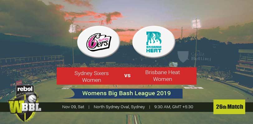 Sydney Sixers Women vs Brisbane Heat Women