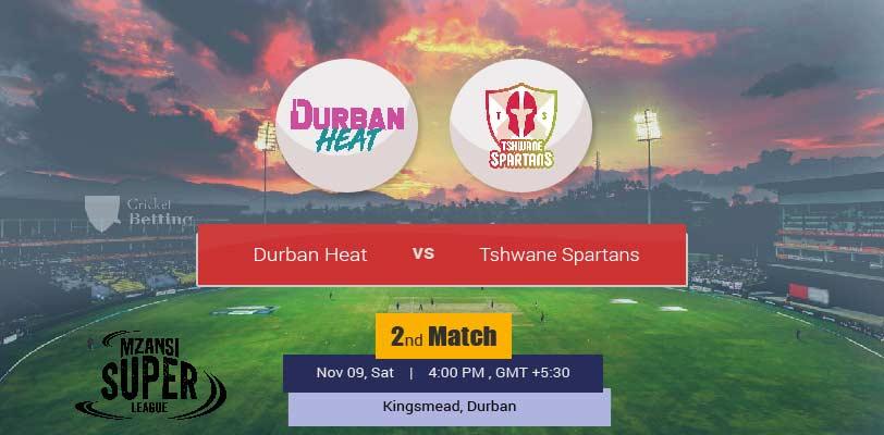 Durban Heat vs Tshwane Spartans