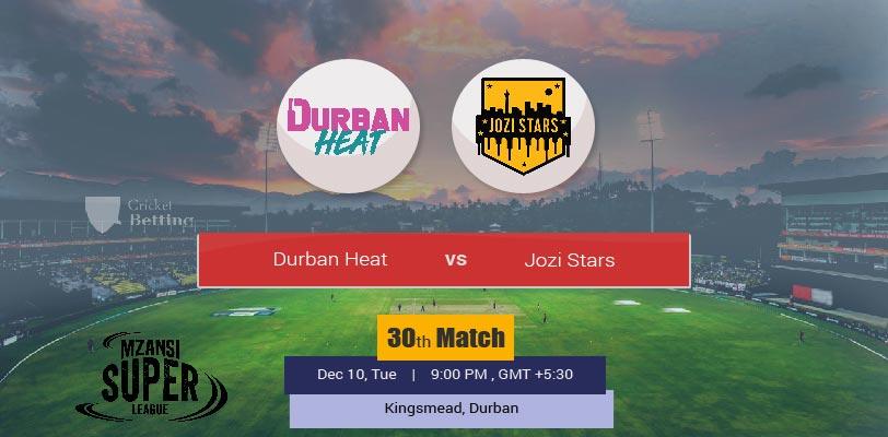 Durban Heat vs Jozi Stars