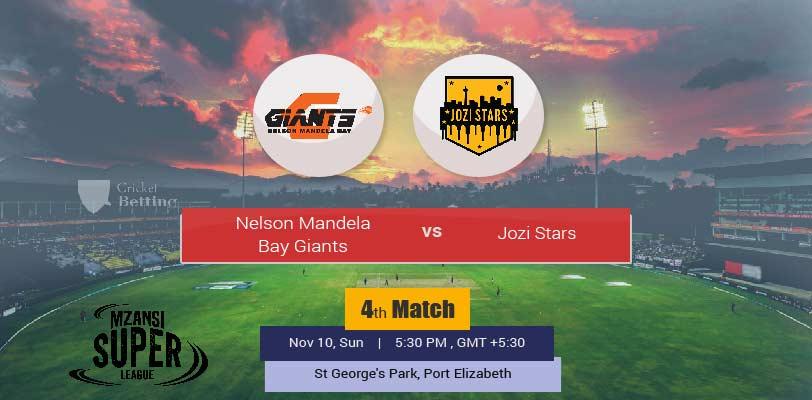 NB Bay Giants vs Jozi Stars