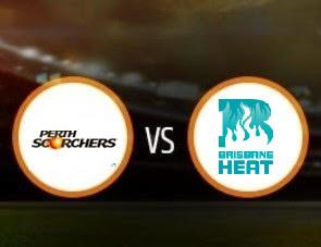 Perth Scorchers vs Brisbane Heat BBL T20 Match Prediction
