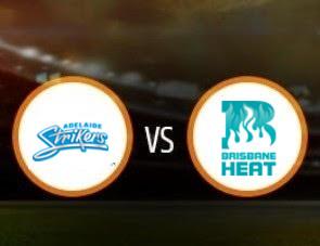Adelaide Strikers vs Brisbane Heat BBL T20 Match Prediction