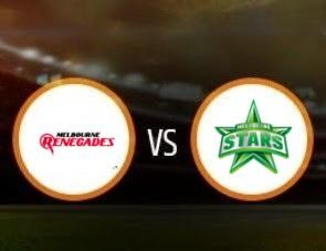 Melbourne Renegades vs Melbourne Stars BBL T20 Match Prediction