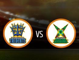 Barbados Tridents vs Guyana Amazon Warriors Match Prediction