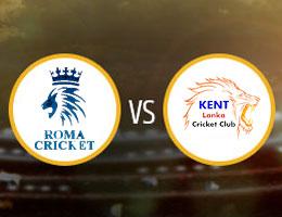 Roma vs Kent Lanka Match Prediction