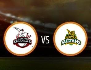 Multan Sultans vs Lahore Qalandars PSL Match Prediction
