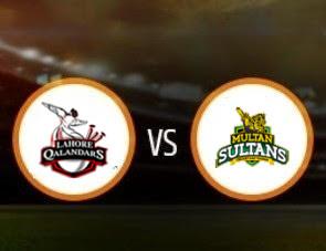Lahore Qalandars vs Multan Sultans PSL T20 Match Prediction