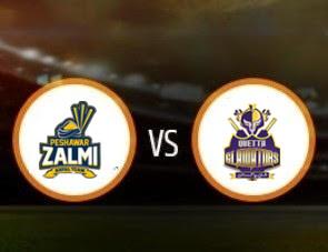 Peshawar Zalmi vs Quetta Gladiators PSL T20 Match Prediction
