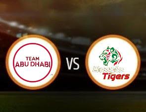 Team Abu Dhabi vs Bangla Tigers T10 Match Prediction
