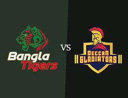 Bangla Tigers vs Deccan Gladiators T10 Prediction