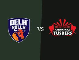 Delhi Bulls vs Karnataka Tuskers T10 Prediction