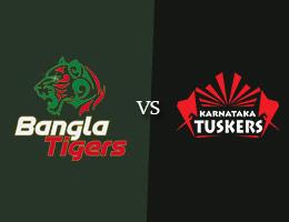Bangla Tigers vs Karnataka Tuskers T10 Prediction