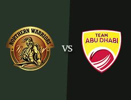 Northern Warriors vs Team Abu Dhabi T10 Prediction