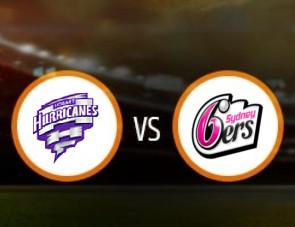 Hobart Hurricaneswomen vs Sydney Sixers women Match Prediction