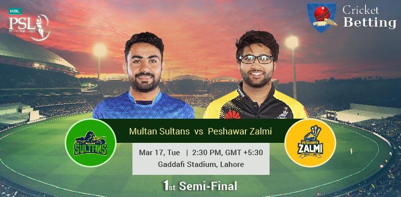 Multan Sultans vs Peshawar Zalmi
