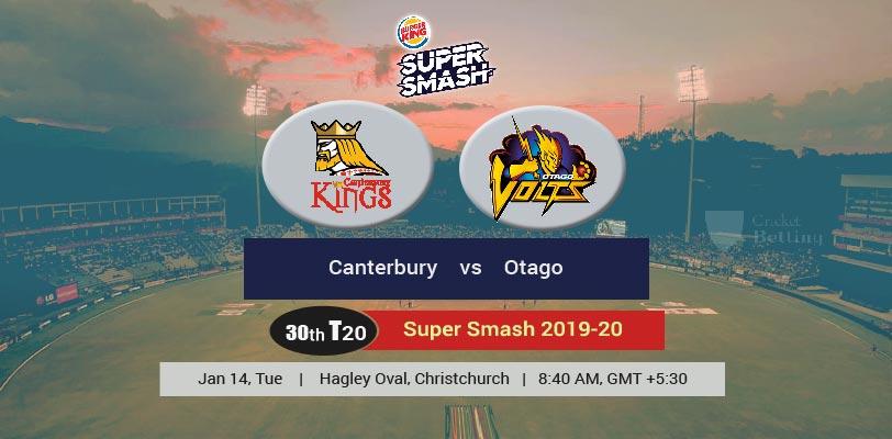 Canterbury vs Otago Volts