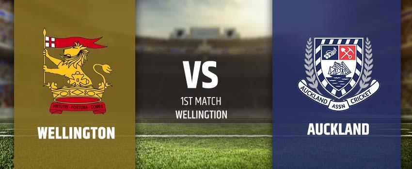 Wellington Firebirds vs Auckland Aces