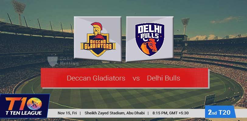 Deccan Gladiators vs Delhi Bulls