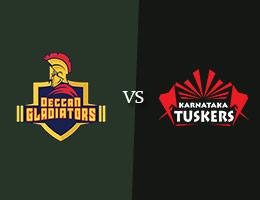 Deccan Gladiators vs Karnataka Tuskers T10 Prediction