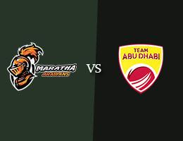 Maratha Arabians vs Team Abu Dhabi T10 Prediction