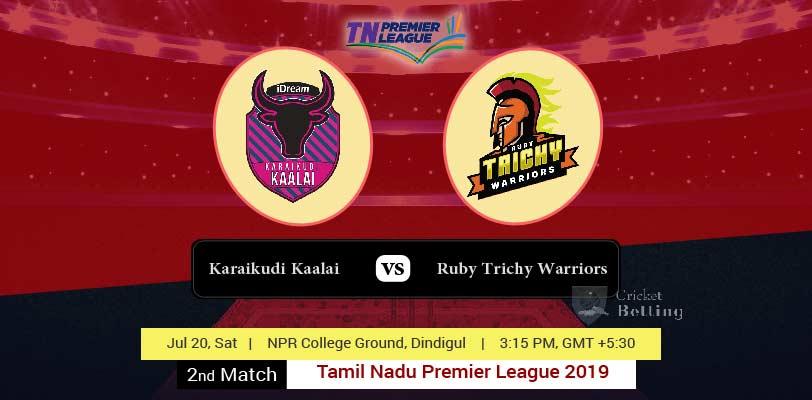 Karaikudi Kaalai vs Ruby Trichy Warriors