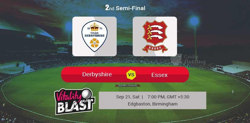 Derbyshire vs Essex