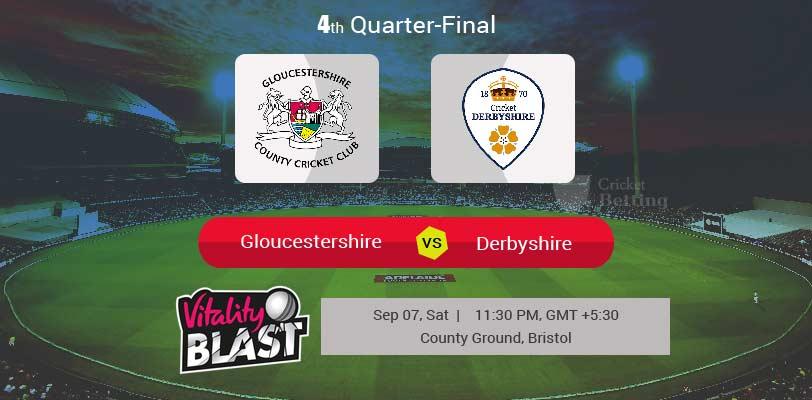 Gloucestershire vs Derbyshire